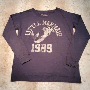 Disney The Little Mermaid Distressed Sweatshirt